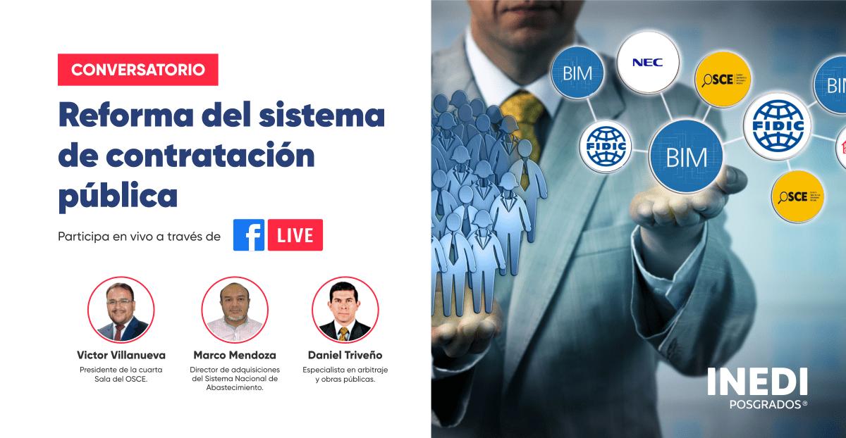 Se Llevará a Cabo un Conversatorio Sobre la Reforma del Sistema de Contratación Pública
