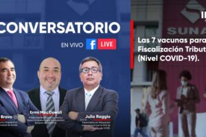 Conversatorio 7 vacunas para la Fiscalización Tributaria nivel COVID 19